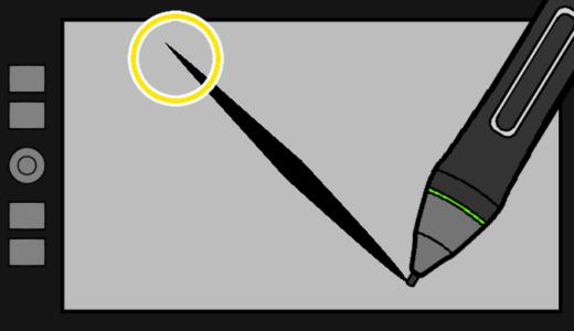 デジタルで絵を描くコツはペンの入り設定!!