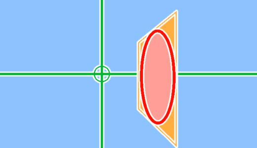 クリスタでパースのかかった円を描きやすくする方法!!