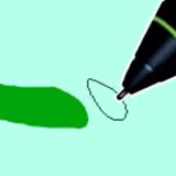 クリスタのブラシ形状サムネ