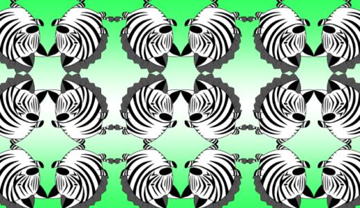 クリスタのタイリングで柄パターン素材を自作する方法!!